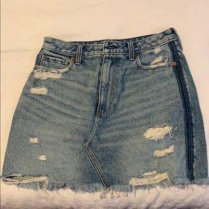 Denim Abercrombie Skirt